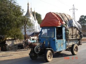 Burma Blue truck