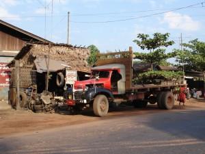 Burma Dodge truck