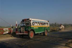 Burma Ford Bus