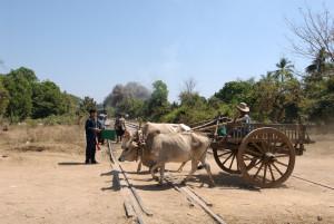 Burma Ox cart